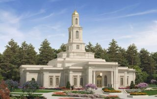 Tallahassee Temple Exterior